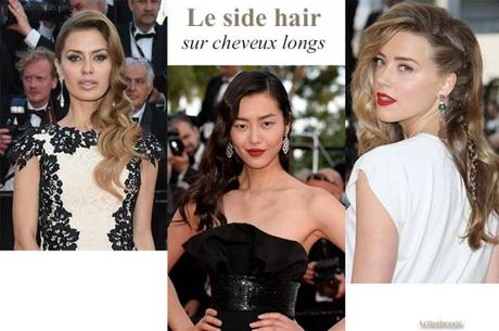 side hair cheveux longs