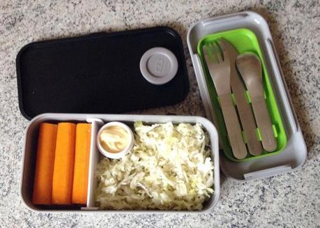 Bento salade de chou et surimi