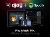 Comment mixez votre iPhone millions titres avec djay Spotify
