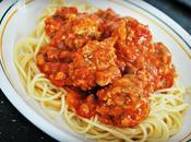 Boulettes Toscane, sauce pancetta