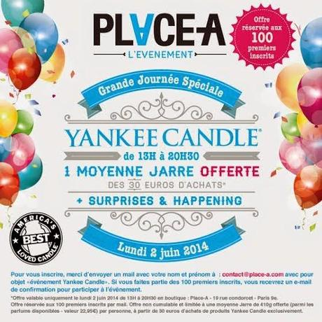 Vente Privée Yankee Candle @ Place A