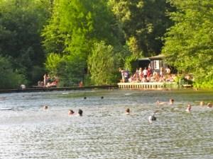 Hampstead Heath Swimming Pounds