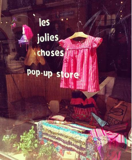 les jolies choses pop up store Toulouse