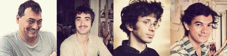 Joël Alessandra, Sylvain-Moizie, Simon Hureau et Clément Baloup_Les dessinateurs de KOMPILASI KOMIKUS (2)