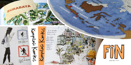 Kompilasi Komikus Carnets de résidence en Indonésie - Balisolo, 2014