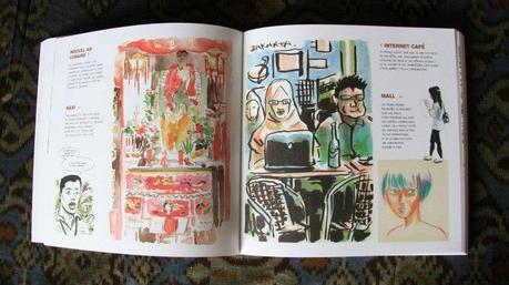 Livre Kompilasi Komikus Carnets de résidence en Indonésie - Balisolo, 2014_48