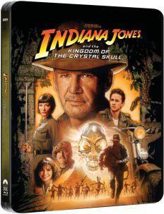 Indiana Jones and the Kingdom of the Crystal Skull [Steelbook Alert]