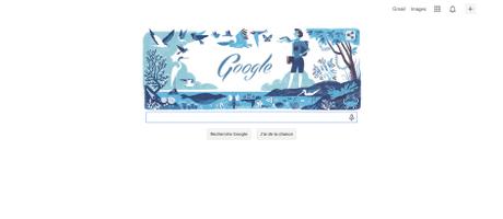 Un Doodle pour les 107 ans de la naissance de Rachel Louise Carson