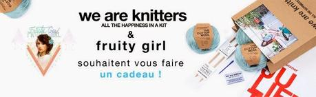 Le knitting avec WE ARE KNITTERS ! ( concours )