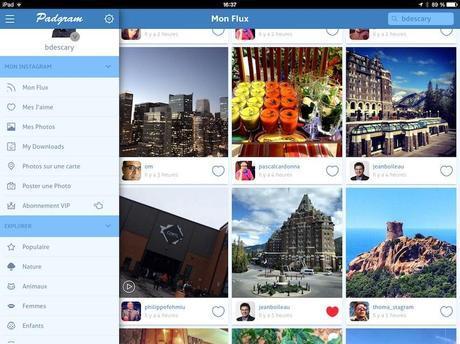 padgram instagram ipad Instagram: 3 applications pour accéder à votre compte depuis un iPad