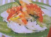 Salade concombres crevettes