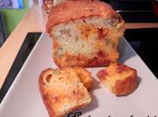 Cake salé Olives vertes, Chorizo Mozzarella