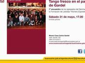 Dernière manifestation pour Horacio Torres Museo Casa Carlos Gardel l'affiche]