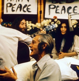 Le Bed-in for Peace de Yoko Ono et John Lennon à Montréal