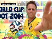 Rémi Gaillard réalise tricks avec ballon pour Coupe Monde