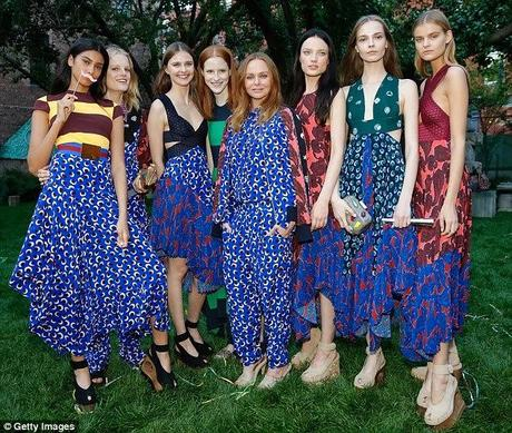 Stella McCartney présente sa collection printemps 2015