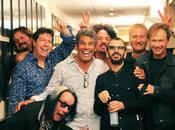 Ringo Starr backstage