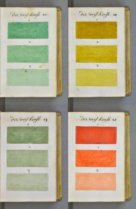 L'ancêtre du Pantone : le manuel de l'aquarelle d'A. Boogerts, 1962 - Couleur