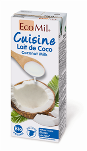 EcoMil Cuisine noix de coco Bio 200 ml