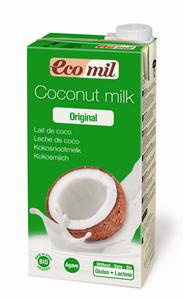 EcoMil Lait de coco agave Bio 1 L