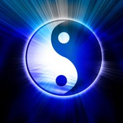 dreamstime_4613550 yin yang blue light