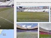 Google Street View: visite virtuelle stades Brésil!