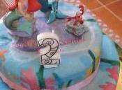 """Gâteau d'anniversaire """"Arielle"""""""