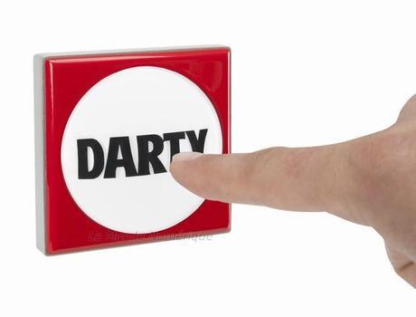 Le bouton Darty, pour entrer facilement en contact avec le leader du SAV en France