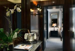 Visite déco : Hôtel J.K à Rome