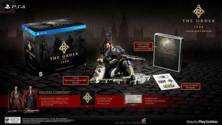 collector edition the order 1886 The Order 1886 : Date de sortie et collector  The order 1886 collector