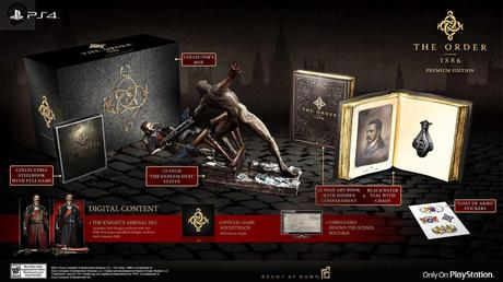 the order premium edition The Order 1886 : Date de sortie et collector  The order 1886 collector