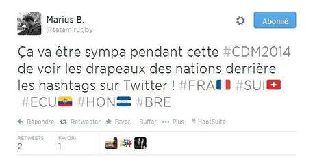 photo drapeau hashtag