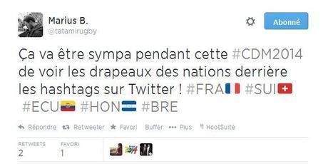 photo drapeau hashtag