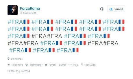 photo hashtag drapeau france