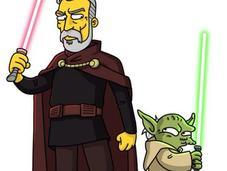 personnages célèbres réimaginés version Simpson