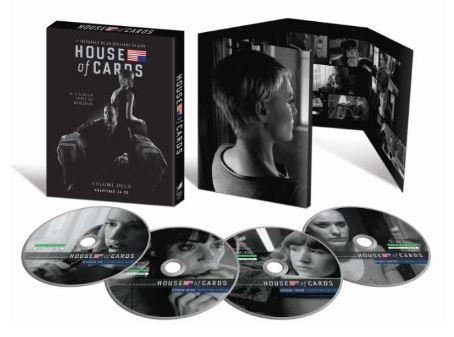 HOUSE OF CARDS BLU-RAY