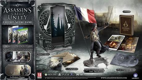 assassins creed unity collector notre dame fr Assassin's Creed Unity : Les collectors  ubisoft collector Assassin's Creed Unity