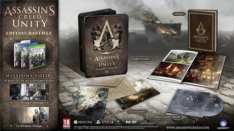 assassins creed unity collector bastille fr Assassin's Creed Unity : Les collectors  ubisoft collector Assassin's Creed Unity