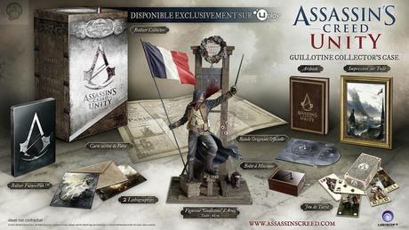 assassins creed unity collector guillotine fr Assassin's Creed Unity : Les collectors  ubisoft collector Assassin's Creed Unity