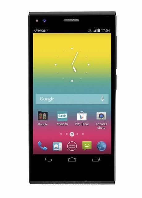 SoshPhone, un smartphone 4G à 170 € par Orange