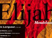 L'oratorio Elijah Choeur classique Montréal Prières scènes religieuses l'opéra Opus Novum