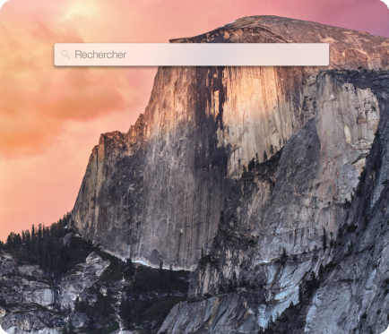 Spotlight OS X Yosemite mac