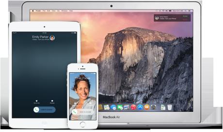 Appels OS X Yosemite