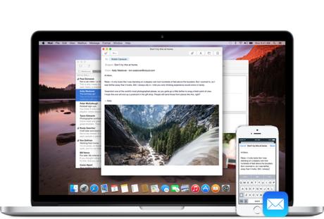 Handoff OS X Yosemite