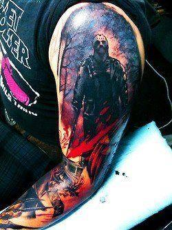 Tattoo-horror-mogwaii-Jason