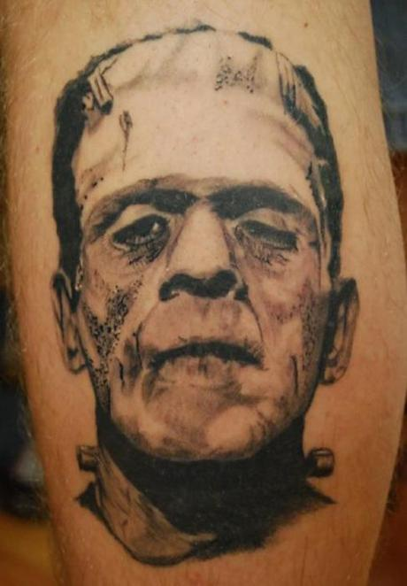 Tattoo-horror-mogwaii-Boris-Karloff- Frankenstein