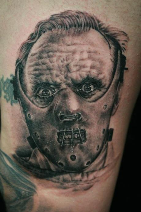 Tattoo-horror-mogwaii-Hannibal-Lecter