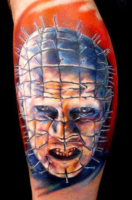 Tattoo-horror-mogwaii-Pinhead-Hellraiser