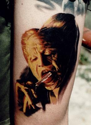 Tattoo-horror-mogwaii-Dracula