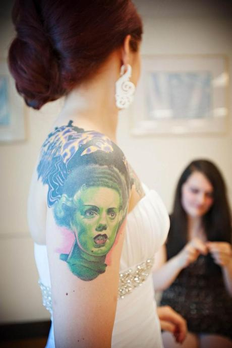 Tattoo-horror-mogwaii-Bride-and-Bride-of-Frankenstein!
